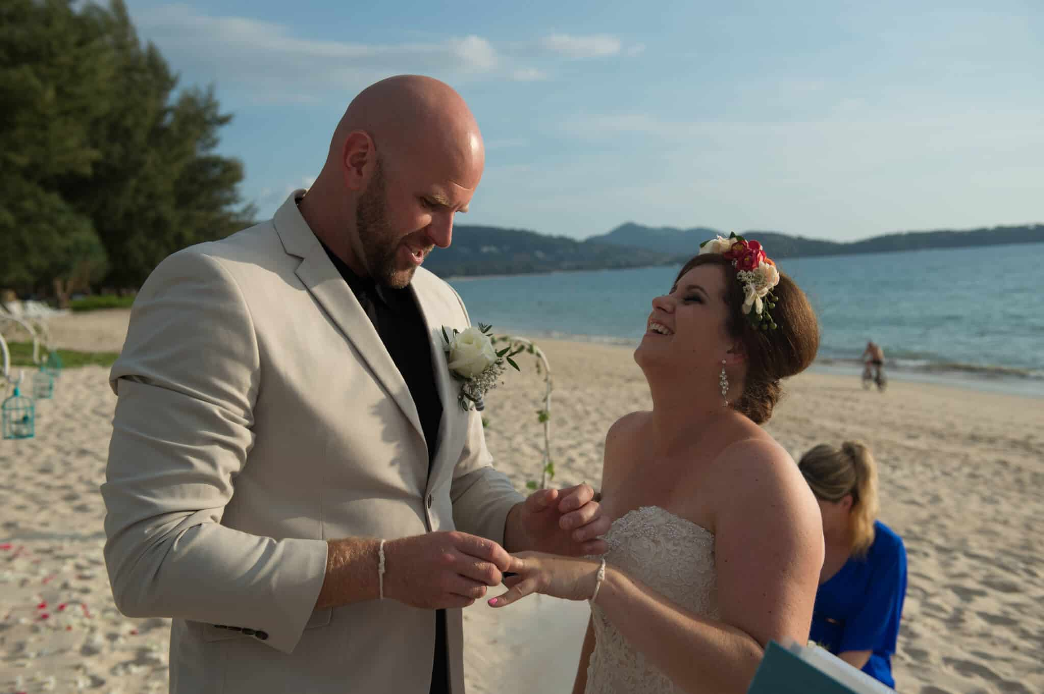 Phuket beach wedding vow renewal (5)