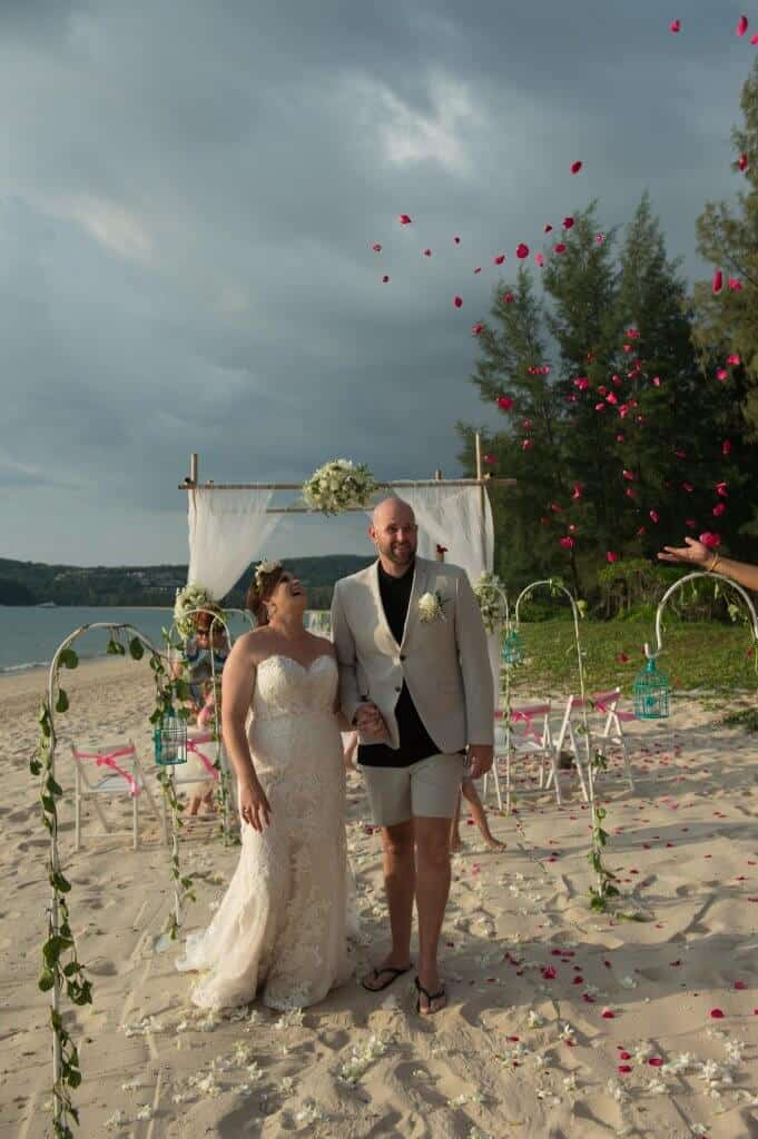 Phuket beach wedding vow renewal (8)